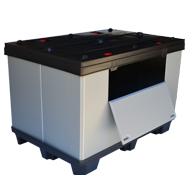 palettenboxen palettencontainer. Black Bedroom Furniture Sets. Home Design Ideas
