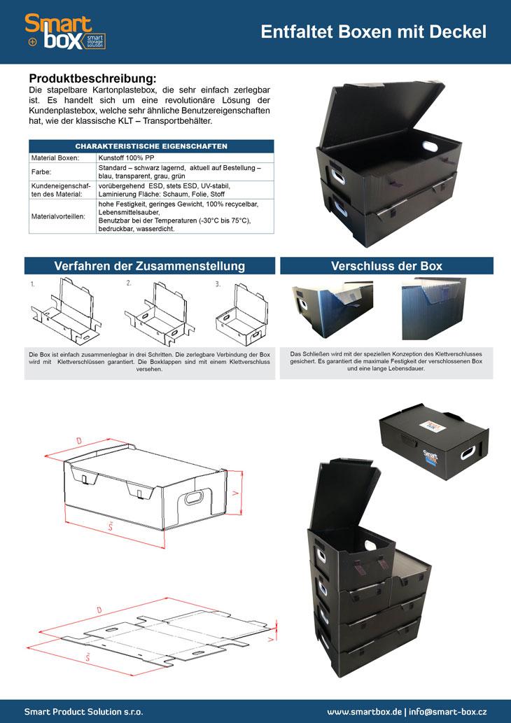 entfaltet boxen mit deckel. Black Bedroom Furniture Sets. Home Design Ideas